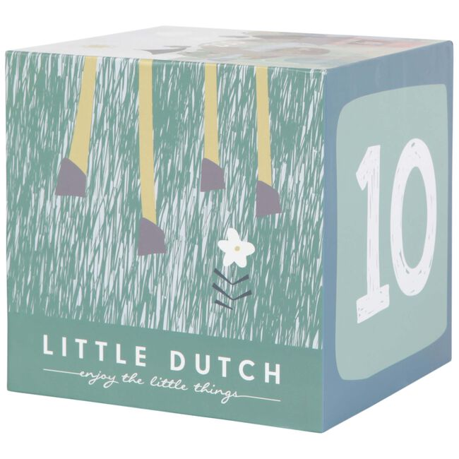 Little Dutch stapelblokken 10-delig - Multi