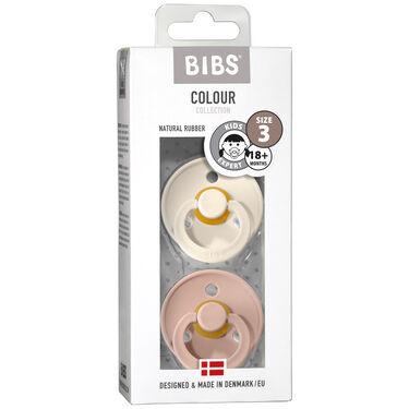 Bibs fopspeentje Size 3 - Ivory / Blush
