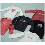 Prénatal baby meisjes T-shirt - Dark Coral Red