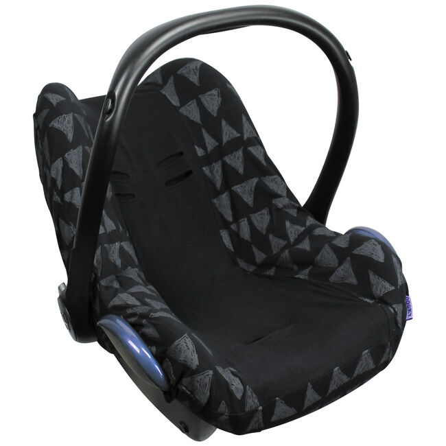 Dooky seatcover 0+ - Black Tribal