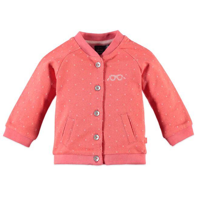 Babyface baby meisjes vest - Coral Pink