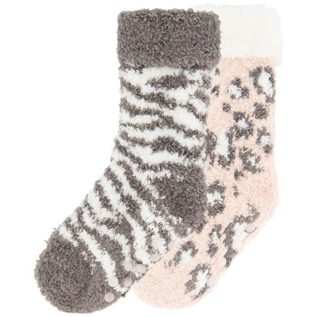 Prénatal meisjes antislip sokken 2 stuks - Light Pink