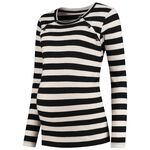 Prenatal voedingsshirt - Black