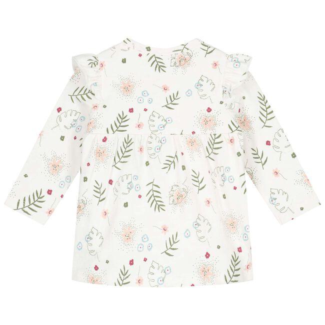 Prénatal newborn meisjes jurkje - Dark Off-White