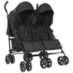Topmark Bobby twin buggy - Black
