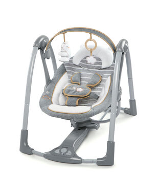 Bright Starts Ingenuity Swing and Go Bella Teddy Boutique babyswing -