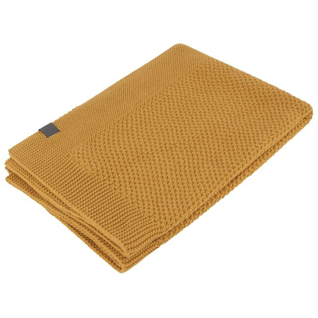 Prénatal Little Knits wieg deken - Light Yellow Brown