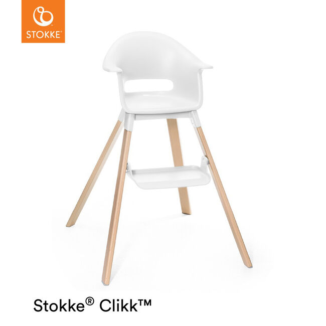 Stokke Clikk High Chair - White
