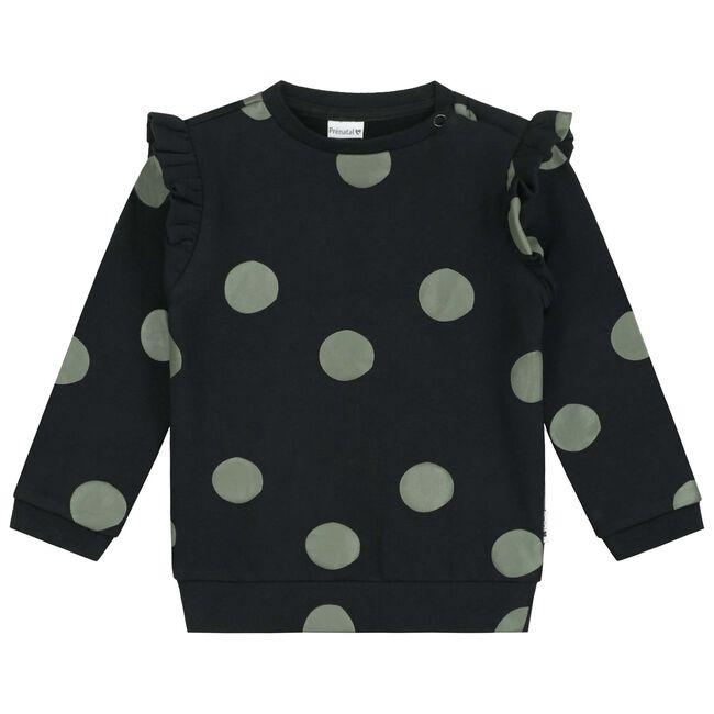 Prénatal baby meisjes sweater - Black