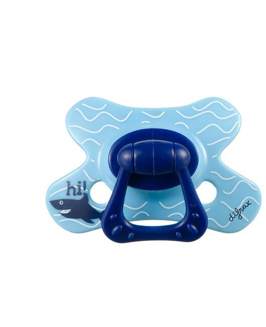 Difrax fopspeen dental 6 maanden - Blue