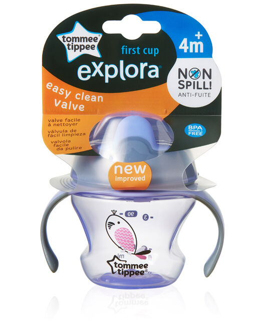 Tommee Tippee first trainer cup - Purple