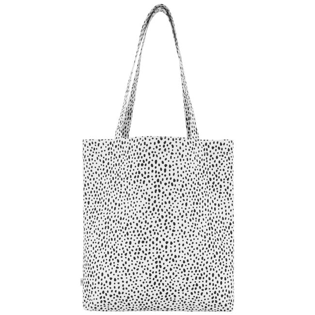 Prénatal shopper / tas Dot - White