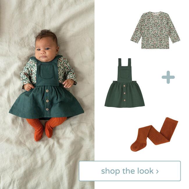 shop the look: t-shirt, jurk en maillot -