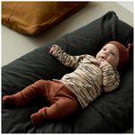Prénatal newborn broek rib - Orange Brown