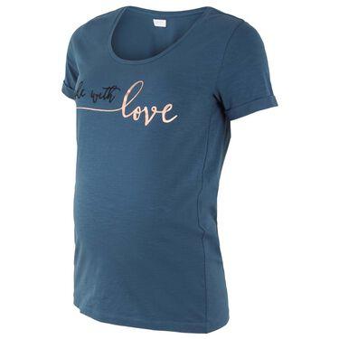 Mamalicious zwangerschaps T-shirt - Light Blueshade