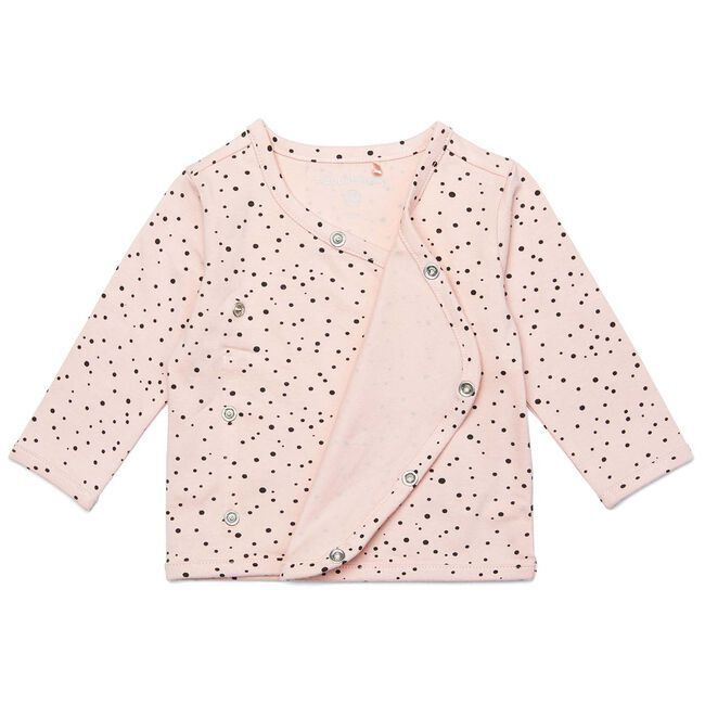 Noppies newborn meisjes shirtje - Peach Pink