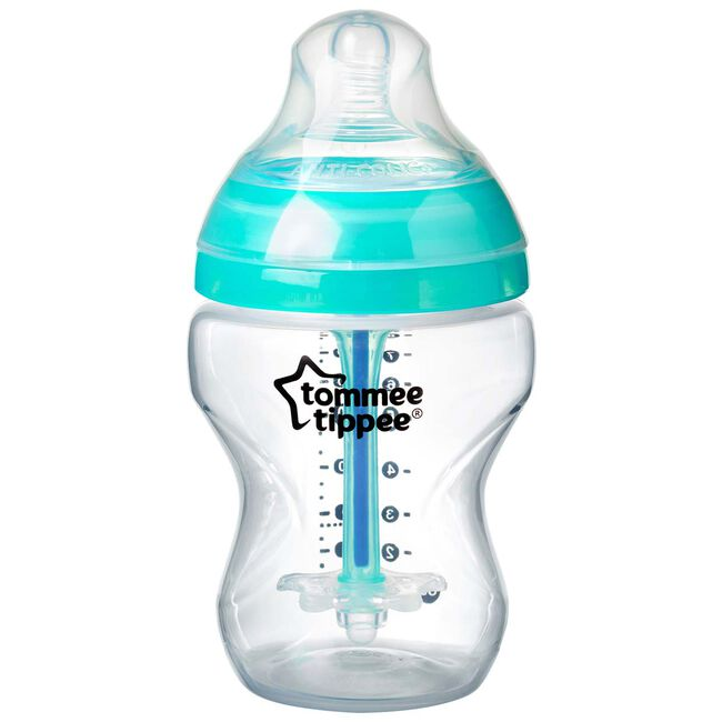 Tommee Tippee anti-colic fles 260 ml - Midgreen