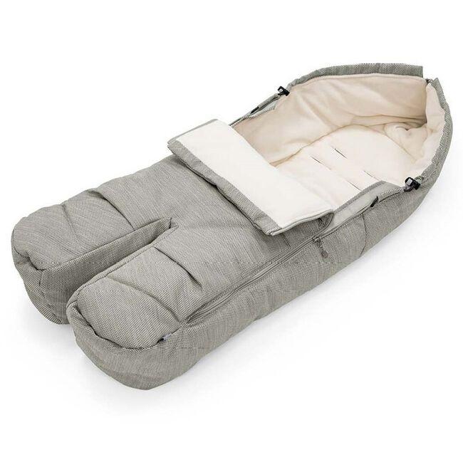 Stokke voetenzak - Brushed Grey