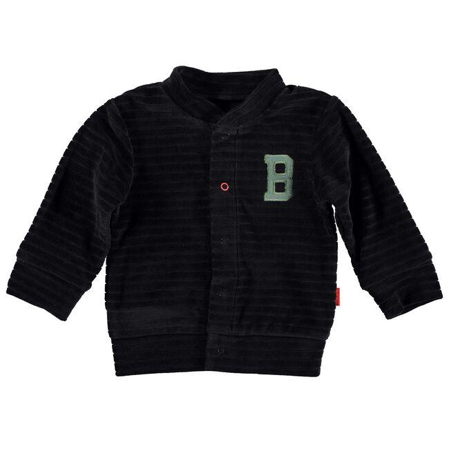 Bess baby jongens vest - Graphite Grey