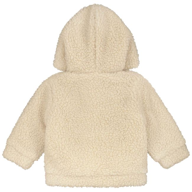 Prenatal newborn unisex teddy jas - Sandbrown