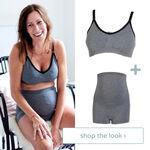 shop the look - voedingsbh en short -
