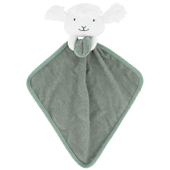 Prénatal knuffeldoekje schaap - Midgreen