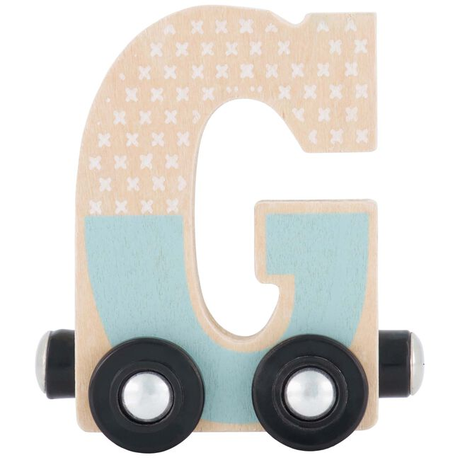 Prénatal houten namentrein letter G - Tingrey
