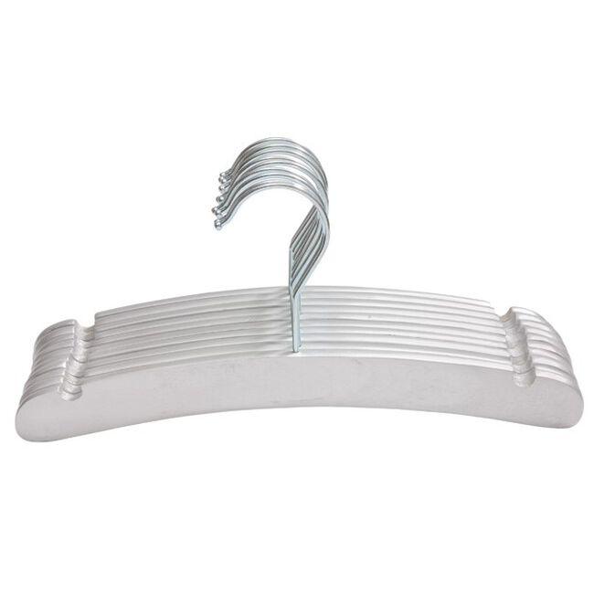 Prénatal kledinghanger hout 10 stuks - Silver