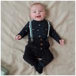 Prénatal baby jongens broek - Black