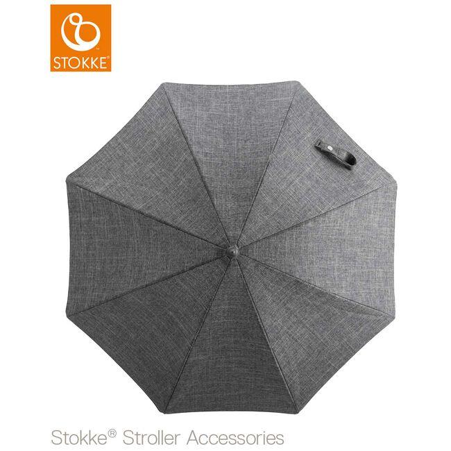 Stokke parasol universeel - Black Melange