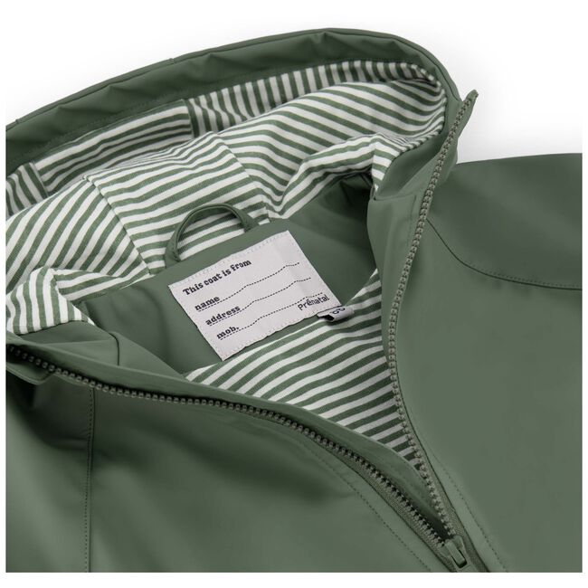 Prénatal peuter unisex zomerjas - Light Khaki Green