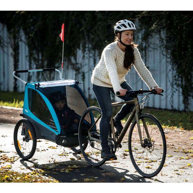 Thule fietskar Coaster 2 XT - Blue