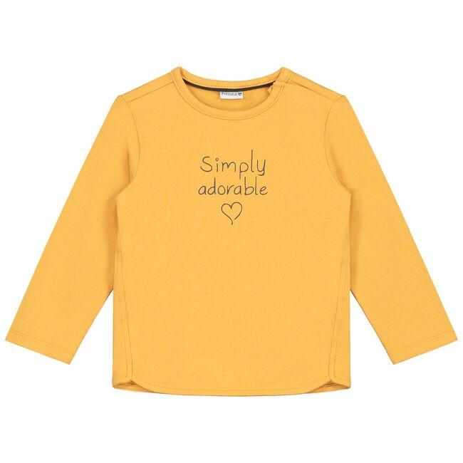 Prenatal peuter meisjes T-shirt - Bananayellow