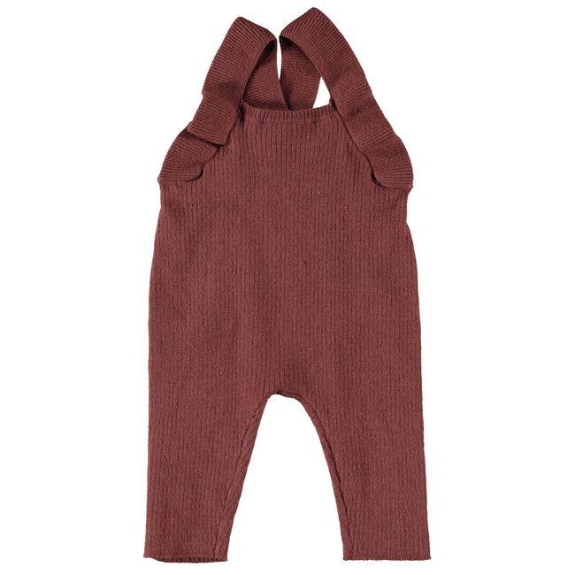 Lil'Atelier meisjes jumpsuit - Red Brown
