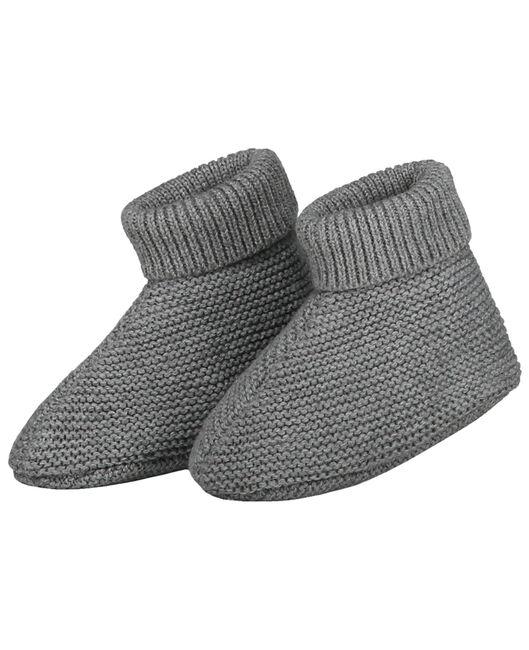 Prénatal newborn unisex slofjes - Dove Grey