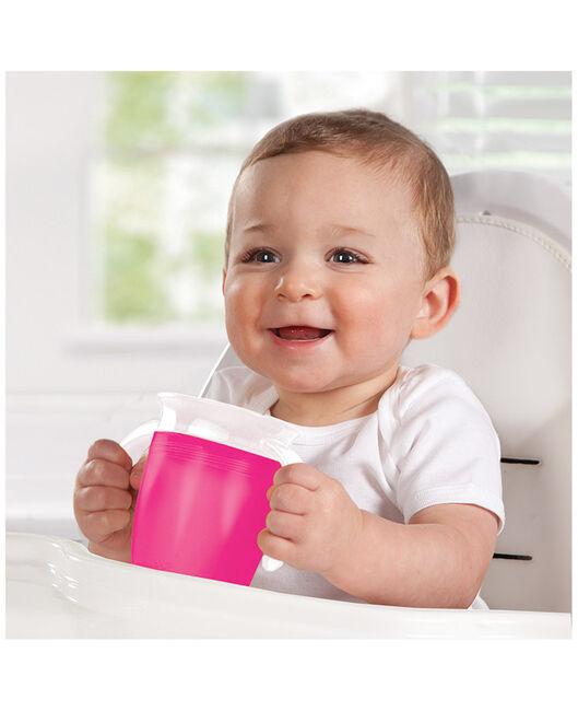 Munchkin drinkbeker miracle 360 roze 207ml 6+ maanden - Pink
