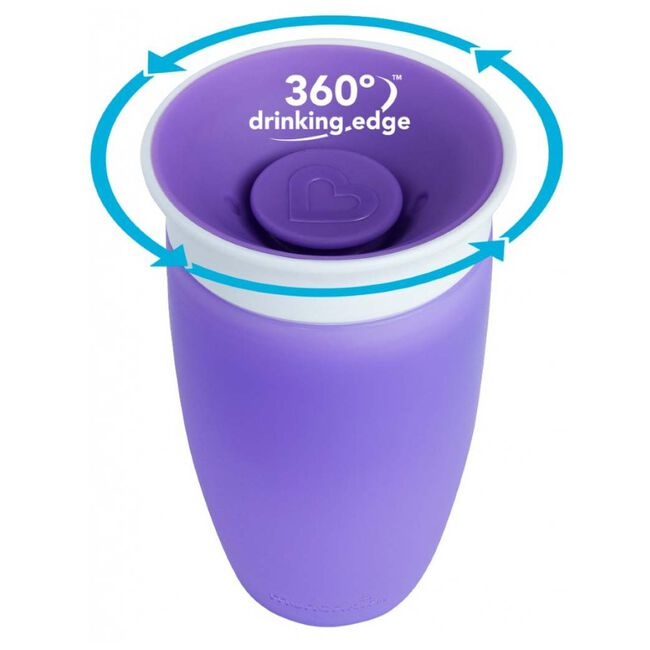 Munchkin drinkbeker Miracle 360 - 296 ml - Purple