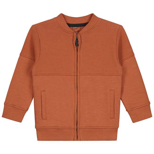 Prénatal baby jongens vest - Orange Brown