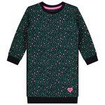 Prénatal baby meisjes jurk - Darkgreen