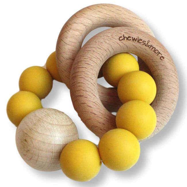 Chewies & more chewie rattle rammelaar - Spice Yellow