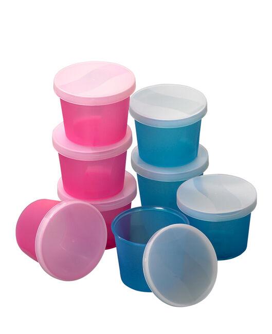 Prénatal voedingspotjes bewaarbakjes 4 stuks - Geen Kleurcode