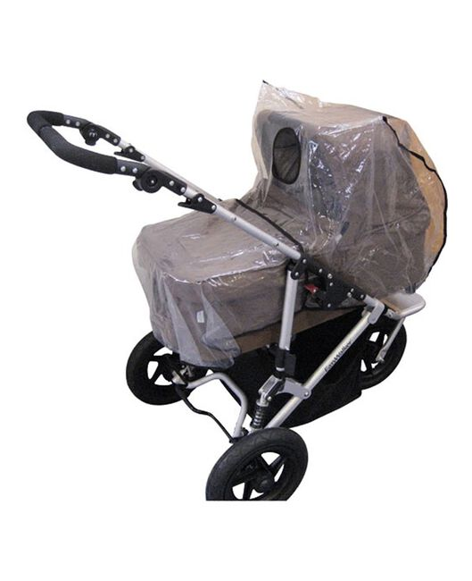 Prenatal regenhoes kinderwagen - Transparant