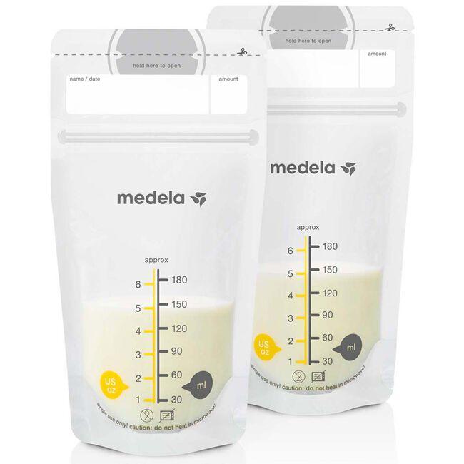Medela moedermelkbewaarzakjes 50 stuks - Geen Kleurcode