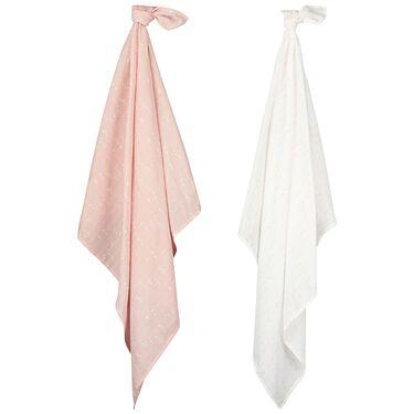 Prénatal hydrofiele doek pink hearts -