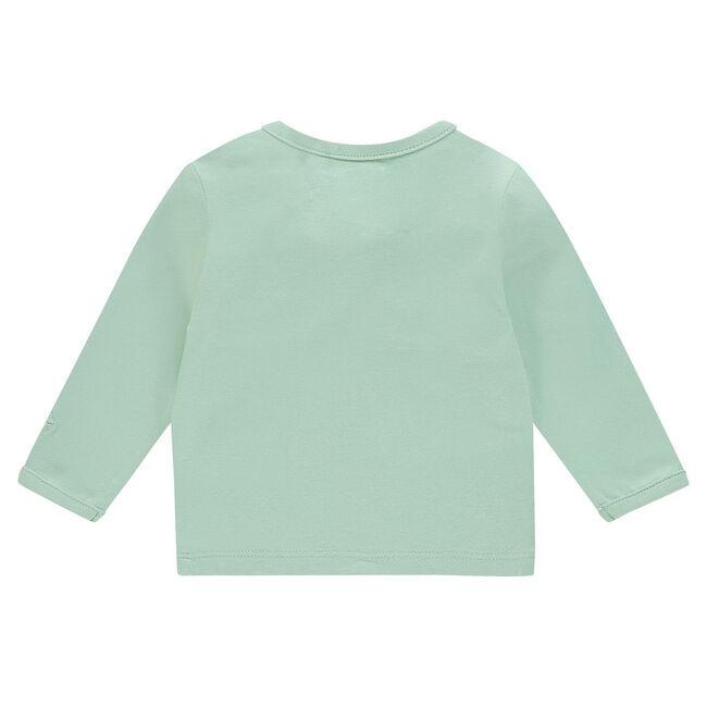 Noppies newborn unisex shirtje - Light Mint Green