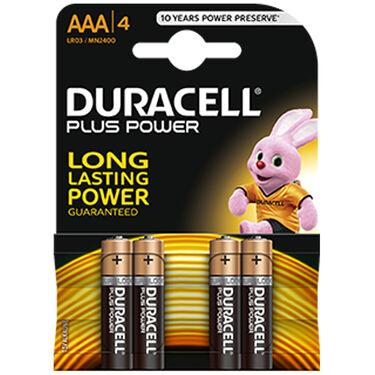 Duracell batterijen AAA 4-pack Alkaline -