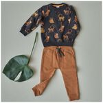 Prénatal baby jongens broek - Brown Shade