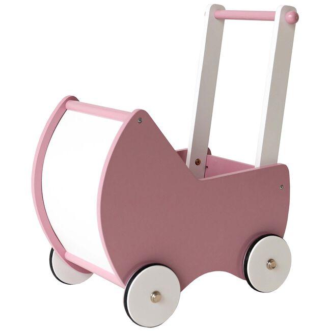 Prénatal poppenwagen hout - Light Pink