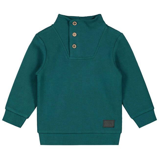 Prénatal peuter jongens sweater - Dark Aqua