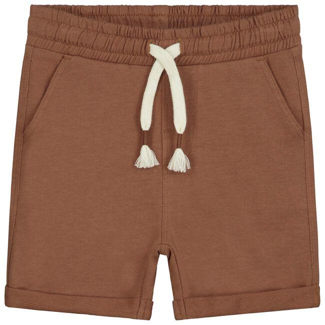 Prénatal peuter jongens short - Chocolatbrown